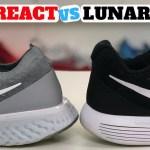 WHICH IS BETTER? Nike EPIC REACT Flyknit vs LUNAR EPIC Flyknit 2 Low!