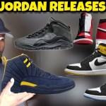 April Jordan Releases 🔥 or 💩: Jordan 12 Michigan Pe, Jordan 10 Shadow, Jordan 1 Homage to Home