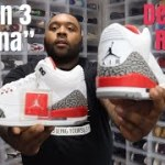 """FIRST LOOK: JORDAN 3 """"KATRINA"""" EARLY DETAILED REVIEW! 100% AUTHENTIC"""