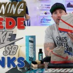 How to clean Suede Nike SB Dunks with Reshoevn8r