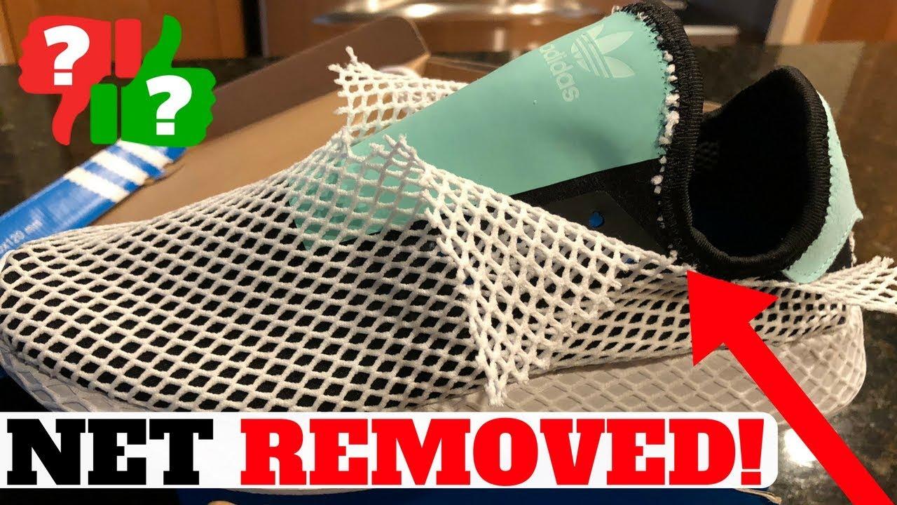 MESH NET REMOVED Adidas DEERUPT Runner - MESH NET REMOVED: Adidas DEERUPT Runner