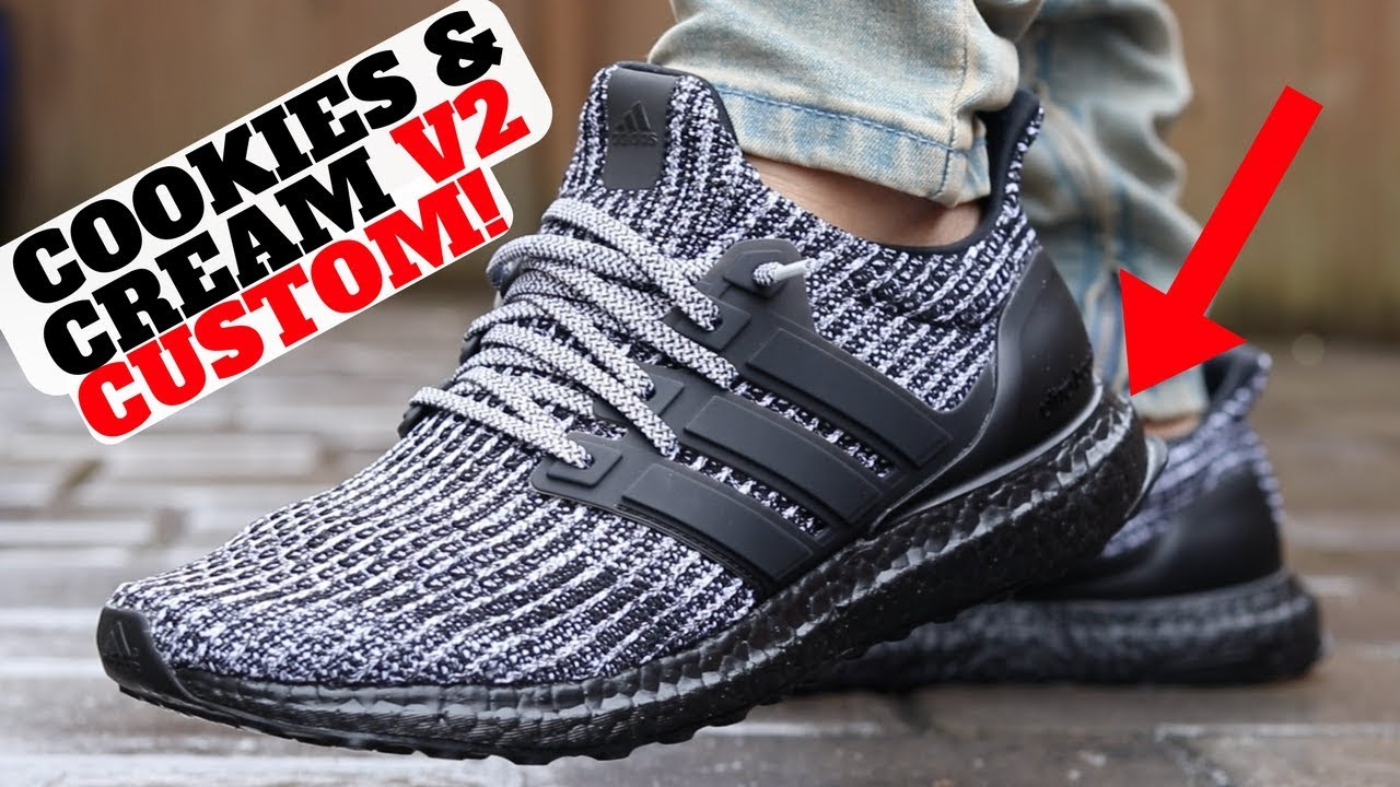 My Version adidas Ultra Boost 4.0 COOKIES AND CREAM - My Version! adidas  Ultra Boost