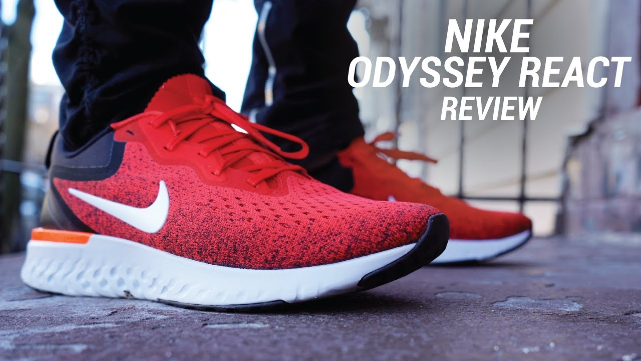 NIKE ODYSSEY REACT REVIEW - NIKE ODYSSEY REACT REVIEW
