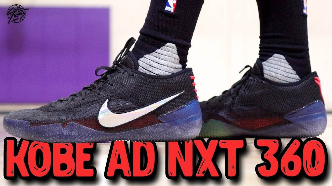 quality design bb71e 37e9e Nike Kobe AD NXT 360 Flyknit First Impressions!
