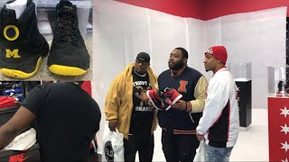"""SECURING JORDAN 1 HOMAGE TO HOME WITH THE CREW JORDAN 9 MICHIGAN PE REVIEW - SECURING JORDAN 1 """"HOMAGE TO HOME"""" WITH THE CREW! JORDAN 9 """"MICHIGAN PE REVIEW"""