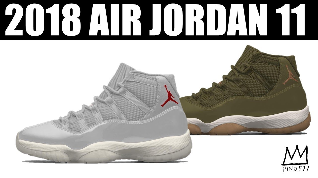 2 MORE JORDAN 11 FOR 2018 NEW RELEASE DATE FOR TRAVIS SCOTT x AIR JORDAN 4 MORE - 2 MORE JORDAN 11 FOR 2018, NEW RELEASE DATE FOR TRAVIS SCOTT x AIR JORDAN 4 & MORE!!
