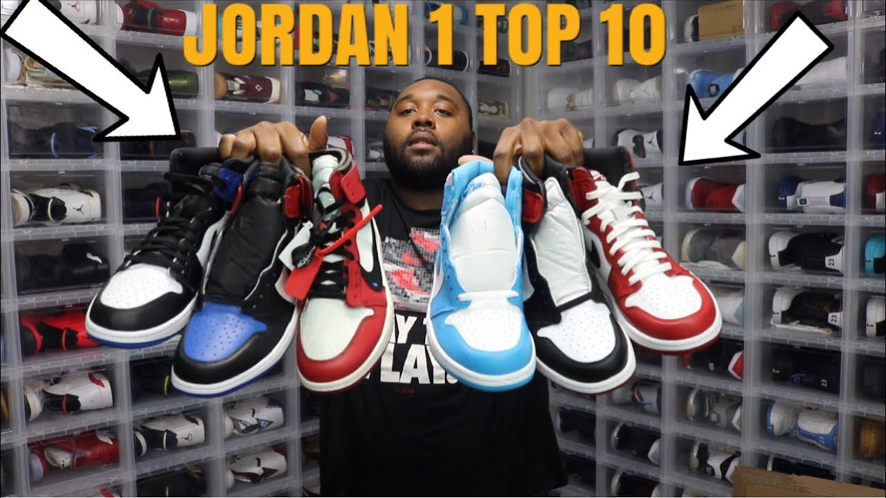 BEST AIR JORDAN 1 EVER CREATED THESE ARE AWESOME TOP 10 COLORWAYS - BEST AIR JORDAN 1 EVER CREATED! THESE ARE AWESOME! TOP 10 COLORWAYS