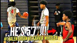 Basketball Motivation 57 Sahvir Wheeler STEALS The SPOTLIGHT In Front of TOP D1 Coaches - Basketball Motivation!! 5'7 Sahvir Wheeler STEALS The SPOTLIGHT In Front of TOP D1 Coaches!!