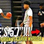 Basketball Motivation!! 5'7 Sahvir Wheeler STEALS The SPOTLIGHT In Front of TOP D1 Coaches!!