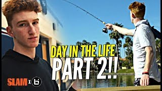 Day In The Life w Nico Mannion PART 2 How Nico Got His HOPS Goes Fishing Loses a Bet  - Day In The Life w/ Nico Mannion PART 2!! How Nico Got His HOPS!? + Goes Fishing & Loses a Bet 😂😂