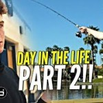 Day In The Life w/ Nico Mannion PART 2!! How Nico Got His HOPS!? + Goes Fishing & Loses a Bet 😂😂