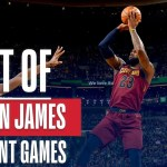 LeBron James' Best Buckets From His 5 40-pt Games This NBA Postseason!