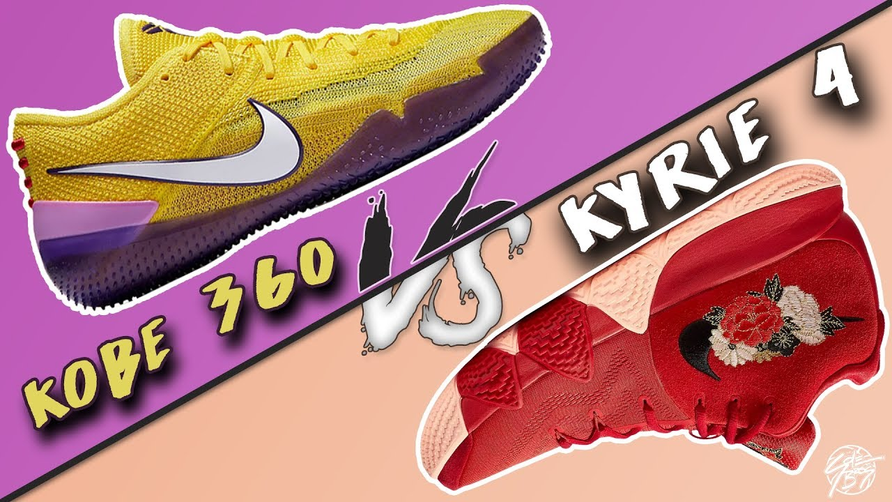 Nike Flyknit Kobe AD NXT 360 vs Kyrie 4 - Nike Flyknit Kobe AD NXT 360 vs Kyrie 4!