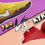 Nike Flyknit Kobe AD NXT 360 vs Kyrie 4!