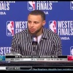 Stephen Curry | Game 5 Western Conference Finals Press Conference