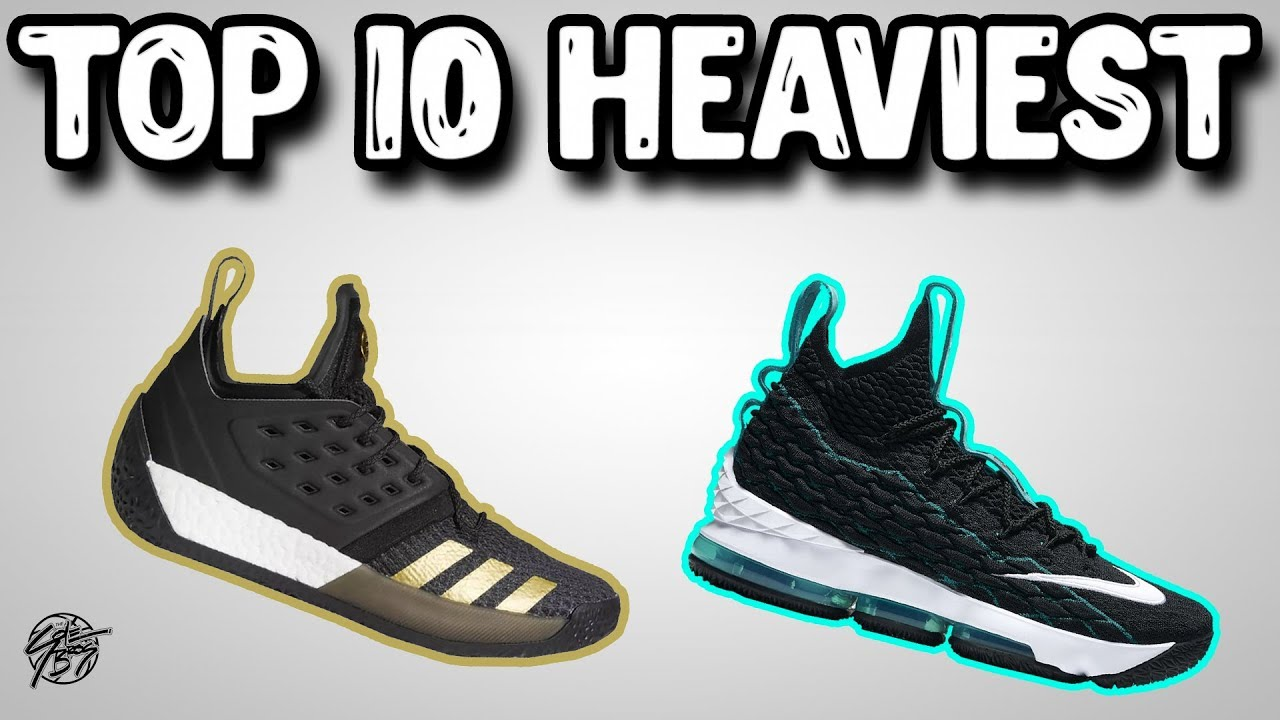 Top 10 Heaviest Basketball Shoes by Weight 2018 - Top 10 Heaviest Basketball Shoes by Weight 2018!