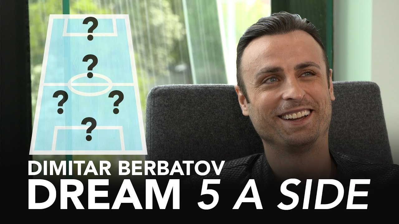 Which player ranks alongside Xavi and Iniesta Dimitar Berbatovs Dream 5 A Side  - Which player ranks alongside Xavi and Iniesta? | Dimitar Berbatov's Dream 5-A-Side ⚽