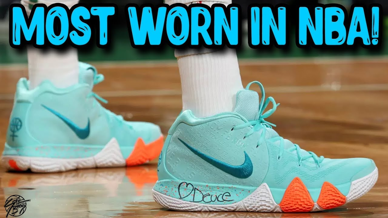 Top 5 Most Worn Signature Shoes by NBA Players 2018 - Top 5 Most Worn Signature Shoes by NBA Players 2018!