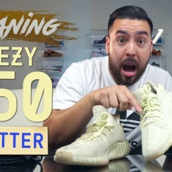 "How to Clean Stained Yeezy 350 V2 Butter - How to Clean Stained Yeezy 350 V2 ""Butter"""