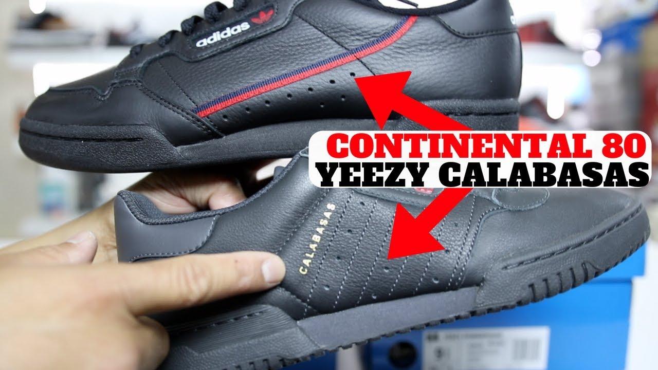 adidas Continental 80 vs Yeezy Powerphase Calabasas Compared Giveaway - adidas Continental 80 vs Yeezy Powerphase Calabasas Compared!! + Giveaway