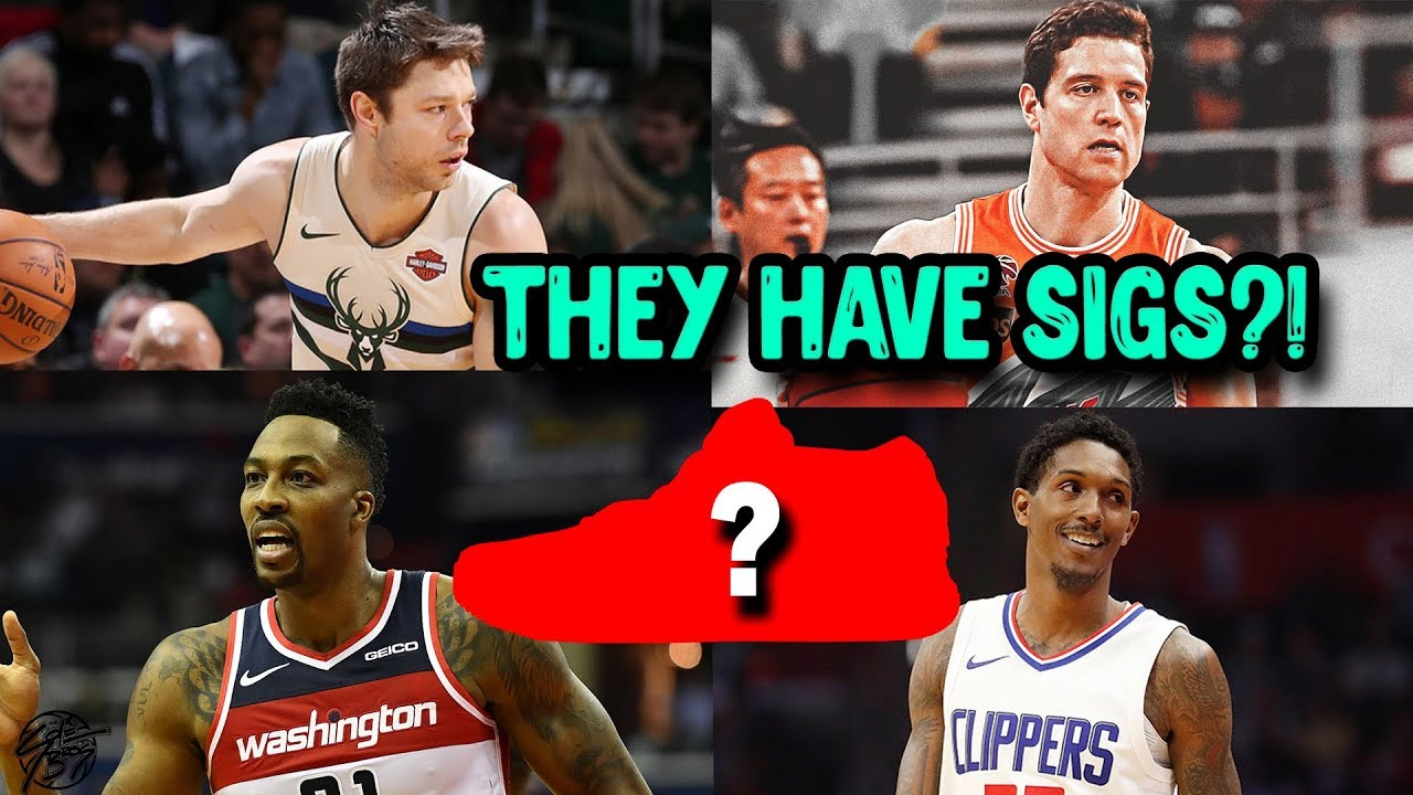 NBA Players You Didnt Know Had SIGNATURE SHOES - NBA Players You Didn't Know Had SIGNATURE SHOES!