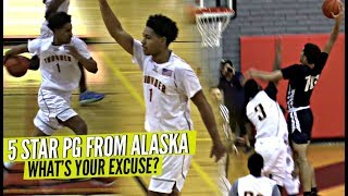 The 1 Point Guard from Alaska Is Nice AF Whats YOUR EXCUSE Double OT Thriller - The #1 Point Guard from Alaska Is Nice AF! What's YOUR EXCUSE!? Double OT Thriller!!
