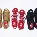【速報:Nikelab 5月1日9:00am発売】Supreme x ナイキラボ エア モア アップテンポ 3色【シュプテンポ】