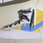 【新色リーク】Sacai x Nike Blazer Mid【サカイ x ナイキ ブレザー ミッド】