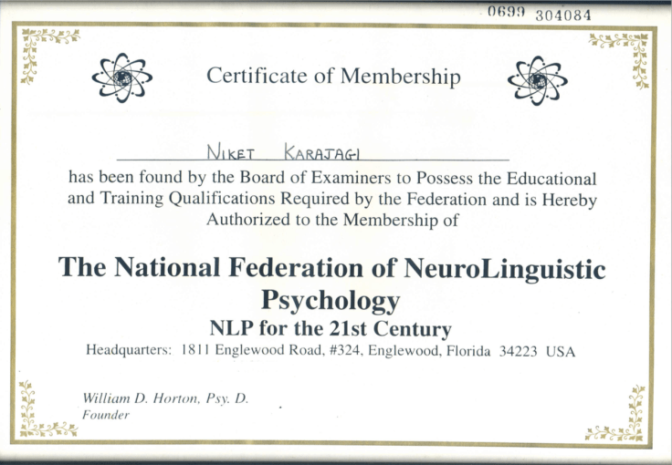 NLP Membership
