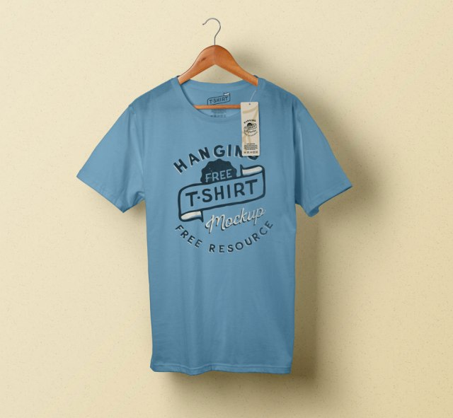 wordpress-designer-theme-t-shirt-blue-hanger