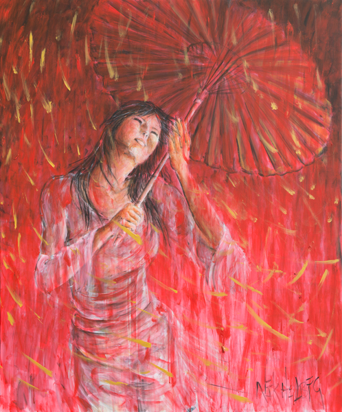 https://fineartamerica.com/featured/red-geisha-rain-storm-nik-helbig.html