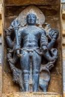 Sculpture of Bhairava on the Airavatesvara Temple near Kumbakonam, Tamil Nadu