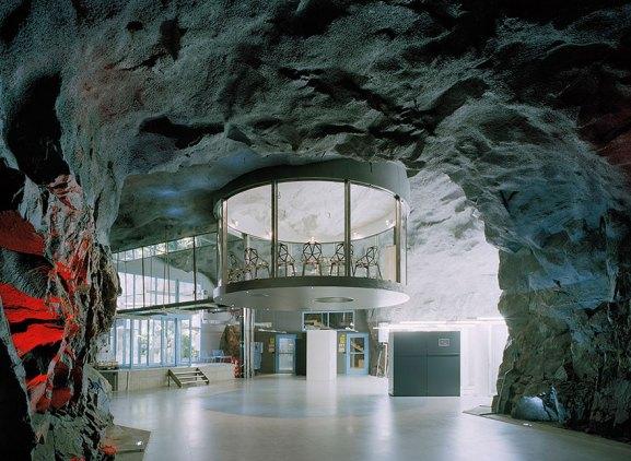 Desain Kantor Paling Keren di Dunia - Desain kantor keren - White Mountain Office 01