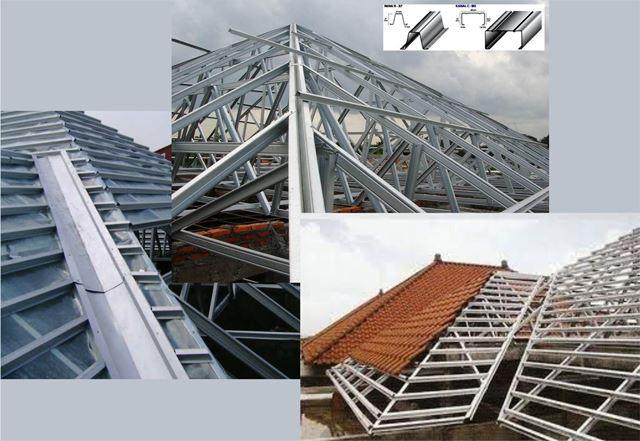 Rangka atap dan plafon masa kini