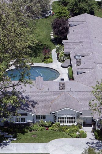 Denise Richards' home in Hidden Hills 2006