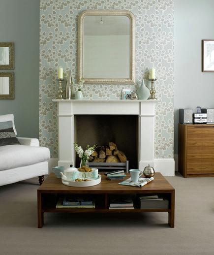 24 Contoh Desain Wallpaper Dinding yang Cantik - Minimalist - Best Home Wallpaper Design