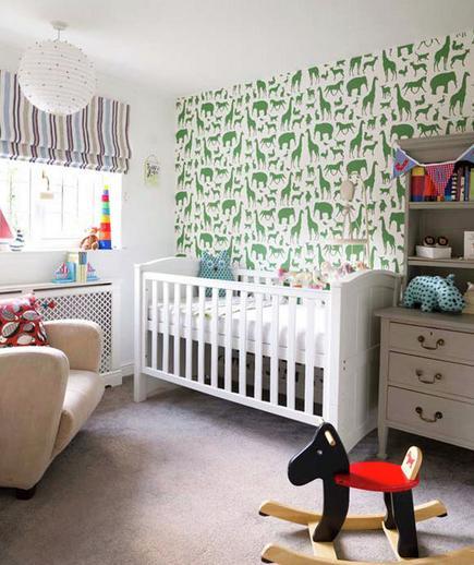 24 Contoh Desain Wallpaper Dinding yang Cantik - Playful - Best Home Wallpaper Design