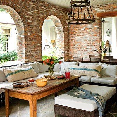 Gambar Batu Bata Desain Interior Modern dan Klasik - Tembok Batu Bata - Interior Desain Kamar Rumah 13