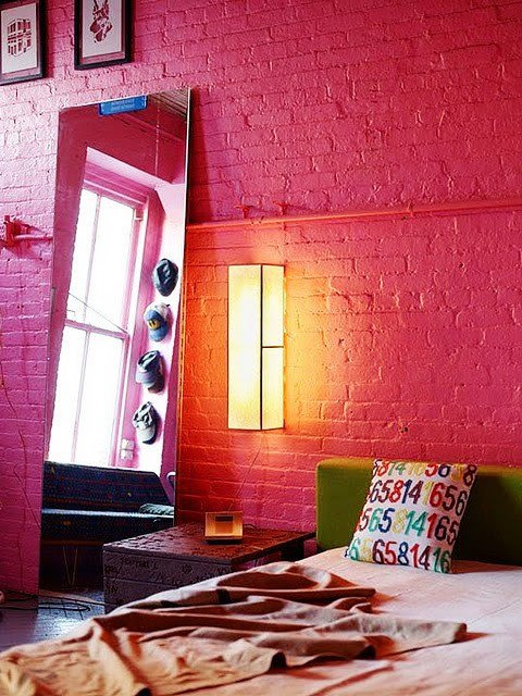 Gambar Batu Bata Desain Interior Modern dan Klasik - Tembok Batu Bata - Interior Desain Kamar Rumah 16