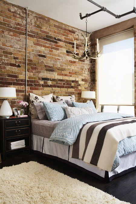 Gambar Batu Bata Desain Interior Modern dan Klasik - Tembok Batu Bata - Interior Desain Kamar Rumah 17