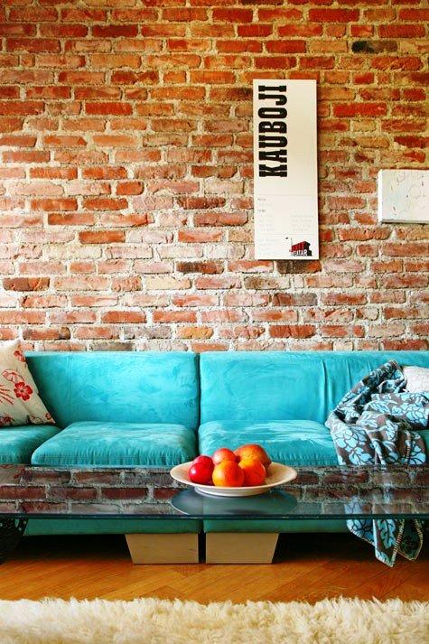 Gambar Batu Bata Desain Interior Modern dan Klasik - Tembok Batu Bata - Interior Desain Kamar Rumah 25
