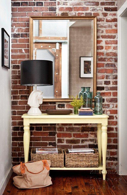 Gambar Batu Bata Desain Interior Modern dan Klasik - Tembok Batu Bata - Interior Desain Kamar Rumah 30