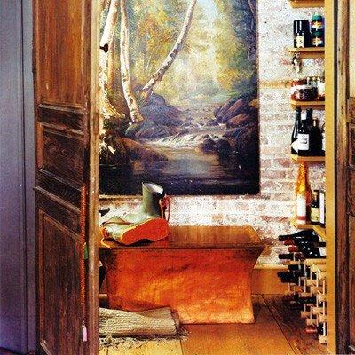 Gambar Batu Bata Desain Interior Modern dan Klasik - Tembok Batu Bata - Interior Desain Kamar Rumah 43