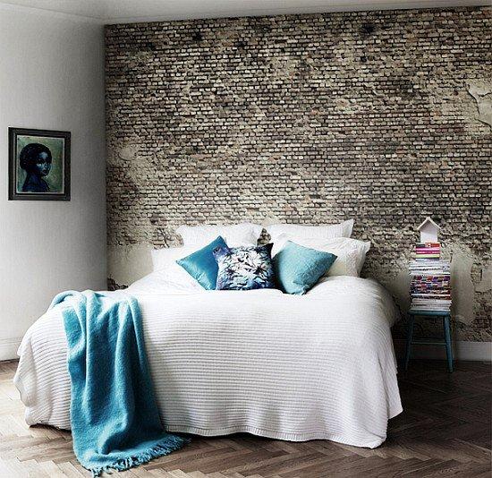 Gambar Batu Bata Desain Interior Modern dan Klasik - Tembok Batu Bata - Interior Desain Kamar Rumah 49