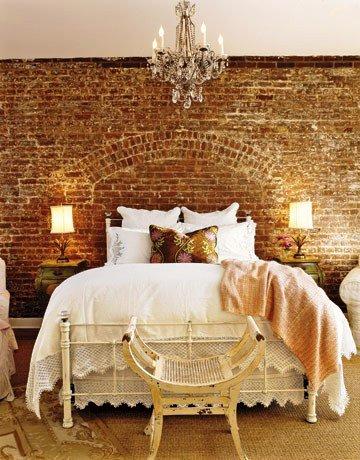 Gambar Batu Bata Desain Interior Modern dan Klasik - Tembok Batu Bata - Interior Desain Kamar Rumah 55