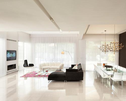 Kontraktor Pelapisan Epoxy Coating Proyek Lantai Gedung - Epoxy Coated Floor modern living room 2