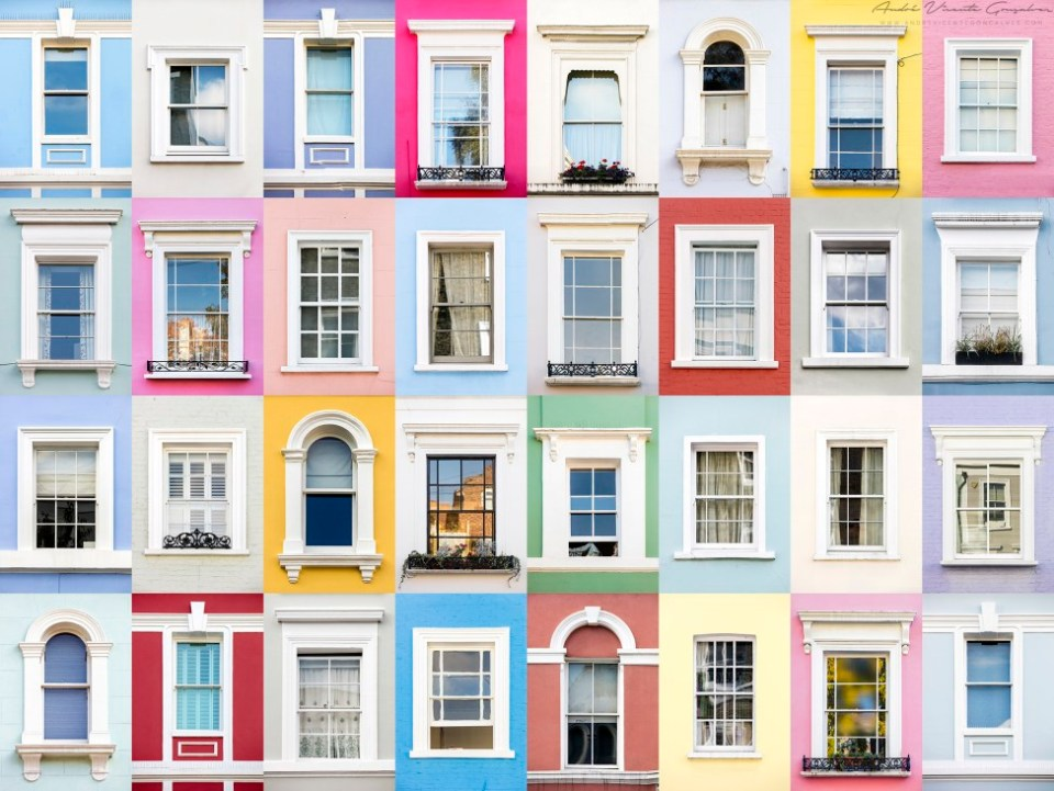 Windows of the World - Notting Hill, London
