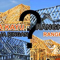 Jasa Pasang Baja Ringan Karawang Konstruksi Rangka Atap Rumah Kayu Atau