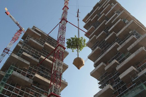 Green Apartment Design with Vertical Forest