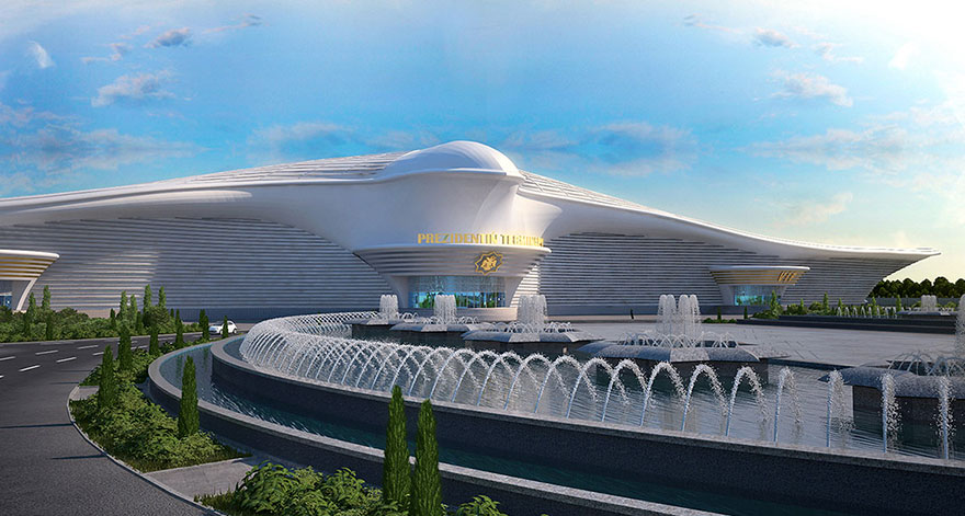 Facts about Falcon Shaped Airport in Turkmenistan